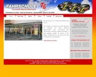 Bild Webseite Fahrschule T.G. Hamburg