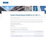 Bild Webseite Imtech Deutschland Hamburg