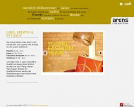 Website Arens Intercoiffure