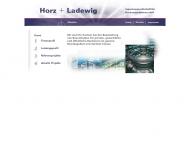 Bild Webseite Horz + Ladewig Ingenieurges. Köln