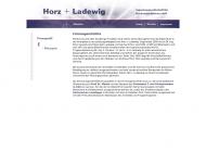 Website Horz + Ladewig Ingenieurges.