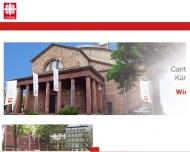 Bild Webseite St. Bernhard Karlsruhe