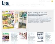 Bild Webseite Layout und Satz Magdeburg