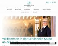 Bild Webseite Schönheits-Stube an der Burg Nürnberg