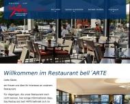 Bild Webseite bell'ARTE Hannover