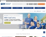 Website KKH-Allianz Servicezentrum Duisburg