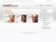 Website Breithaupt Physiotherapie Erfurt