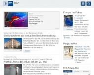 Bild Webseite IHK Industrie- u. Handelskammer für München u. Oberbayern München