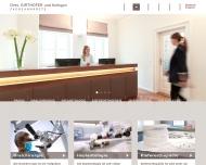 Bild Webseite Dr. Stephan Girthofer München