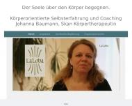 Bild Webseite LaLoba Karlsruhe