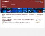 Bild Webseite A.T. Kearney München