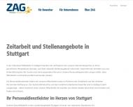 Bild Webseite  Stuttgart