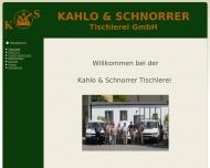 Bild Kahlo u. Schnorrer Tischlerei GmbH