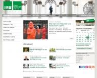 Bild Webseite Ludwig-Maximilians-Universität München München