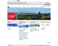 Bild Hitachi High-Technologies Europe GmbH