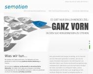 Bild Webseite Semotion - Online-Marketing & Suchmaschinenoptimierung aus ... Magdeburg