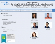 Bild Panzer Giselher Dr. , Witthöft Julia Dr. u. Roudeniklis Petros Dr. Zahnärzte