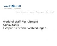 world of staff Recruitment Consultants GmbH