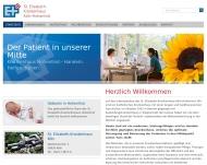Bild Webseite St. Elisabeth-Krankenhaus Köln