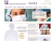 Bild Webseite Kinderkrankenhaus Amsterdamer Straße Köln