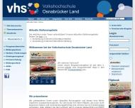 Bild Volkshochschule Osnabrücker Land