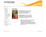 Website Pentermann Pressephotographie