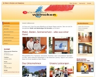 Bild Webseite Maler Dresden Malermeister Wemcken Dresden