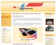 Website Maler Dresden Malermeister Wemcken