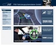 Bild Webseite FSD Fahrzeugsystemdaten Dresden