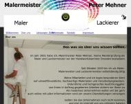 Website Maler, Malermeister Peter Mehner Dresden
