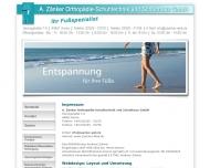 Bild Zänker Orthopädie-Schuhtechnik & Schuhhaus GmbH