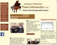 Bild Willkommen bei Piano Schumacher