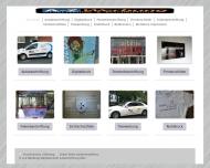 Bild Webseite A - Z Werbung Köln