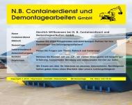 Bild N.B. Containerdienst und Demontagearbeiten GmbH - Mannheim