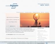 Bild Webseite Brückmann-Reisen Darmstadt