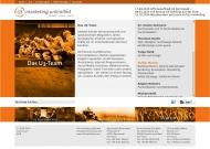 Website U3 marketing unlimited, Darmstadt, Germany