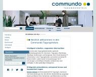 Bild Webseite Deutsche Telekom Darmstadt