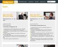 Bild Webseite KFZ Sachverständigenbüro Augsburg