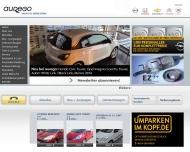 Bild Webseite aurego Motorrad Wuppertal