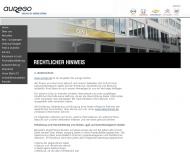 Website aurego Motorrad