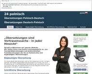 Bild 24 POLNISCH ÜBERSETZUNGEN: Übersetzer Dolmetscher Polnisch-Deutsch und Deutsch-Polnisch, bundesweit