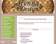 Website Henna Design by hennamalerei