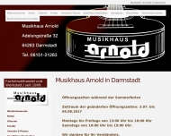 Bild Webseite Christian Arnold Darmstadt