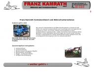 Bild Webseite Franz Kamrath Dortmund
