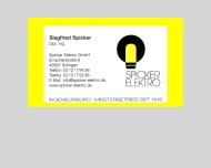 Bild Spicker Elektro GmbH