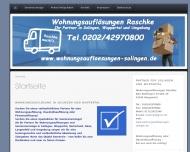 Bild Wohnungsauflösungen u. Seniorenumzüge Solingen Raschke