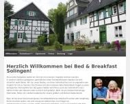 Bild Bed & Breakfast Solingen - Privatpension