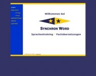 Bild Synchron Word