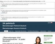 Bild KRASCHINSKI Übersetzer Dolmetscher Polnisch-Deutsch und Deutsch-Polnisch tlumacz przysiegly