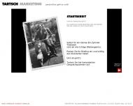 Bild Webseite Tartsch Marketingberatung Nürnberg